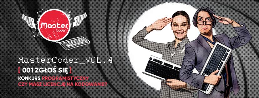 Mastercoder Vol. 4 - Konkurs Programistyczny- Czy masz już licencję na kodowanie?