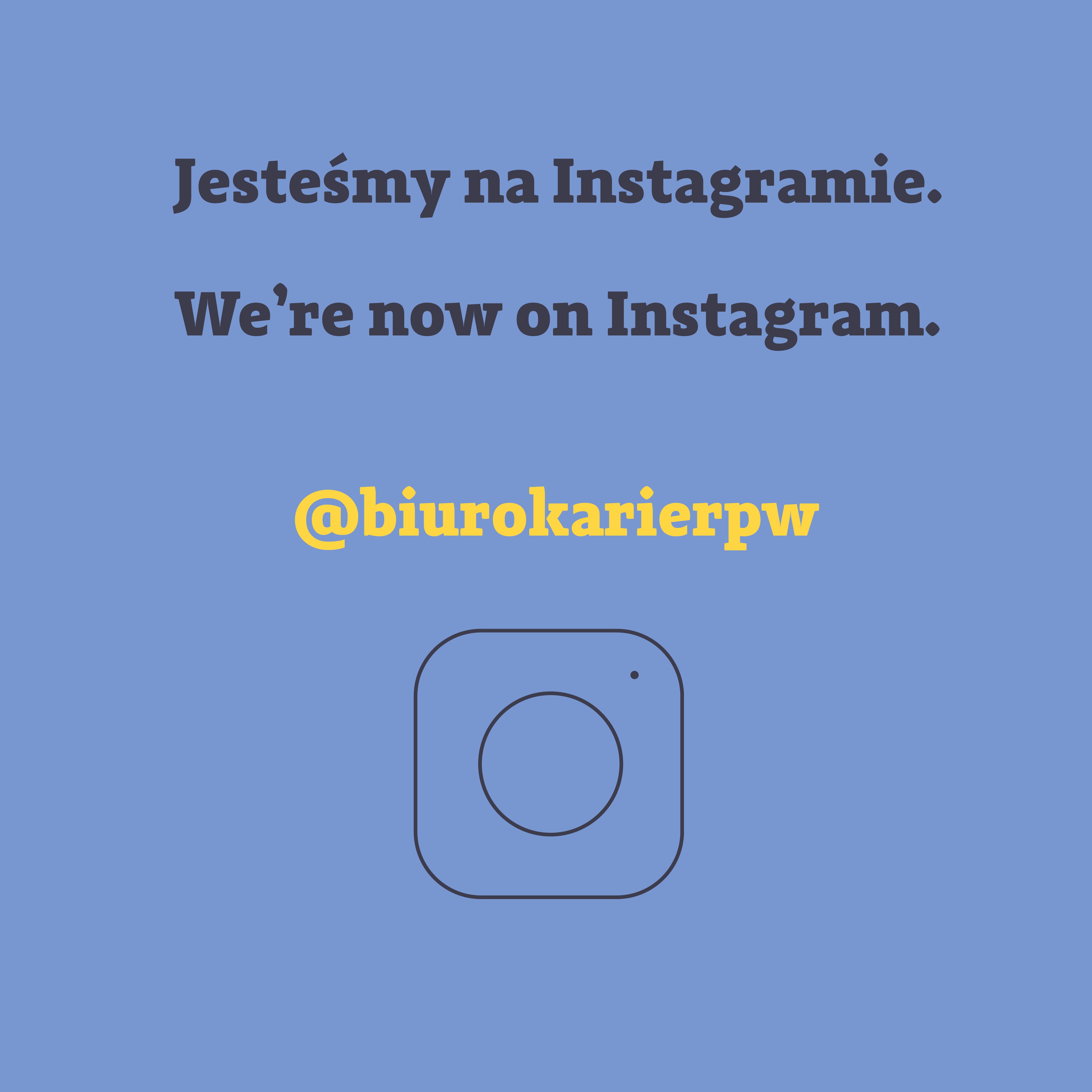 Biuro Karier na Instagramie