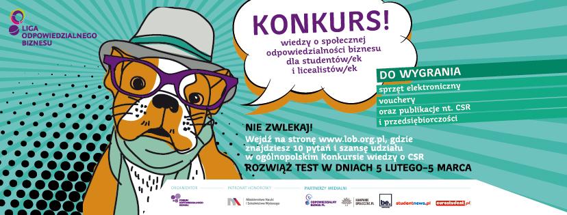 Ogólnopolski Konkurs wiedzy o CSR 2018