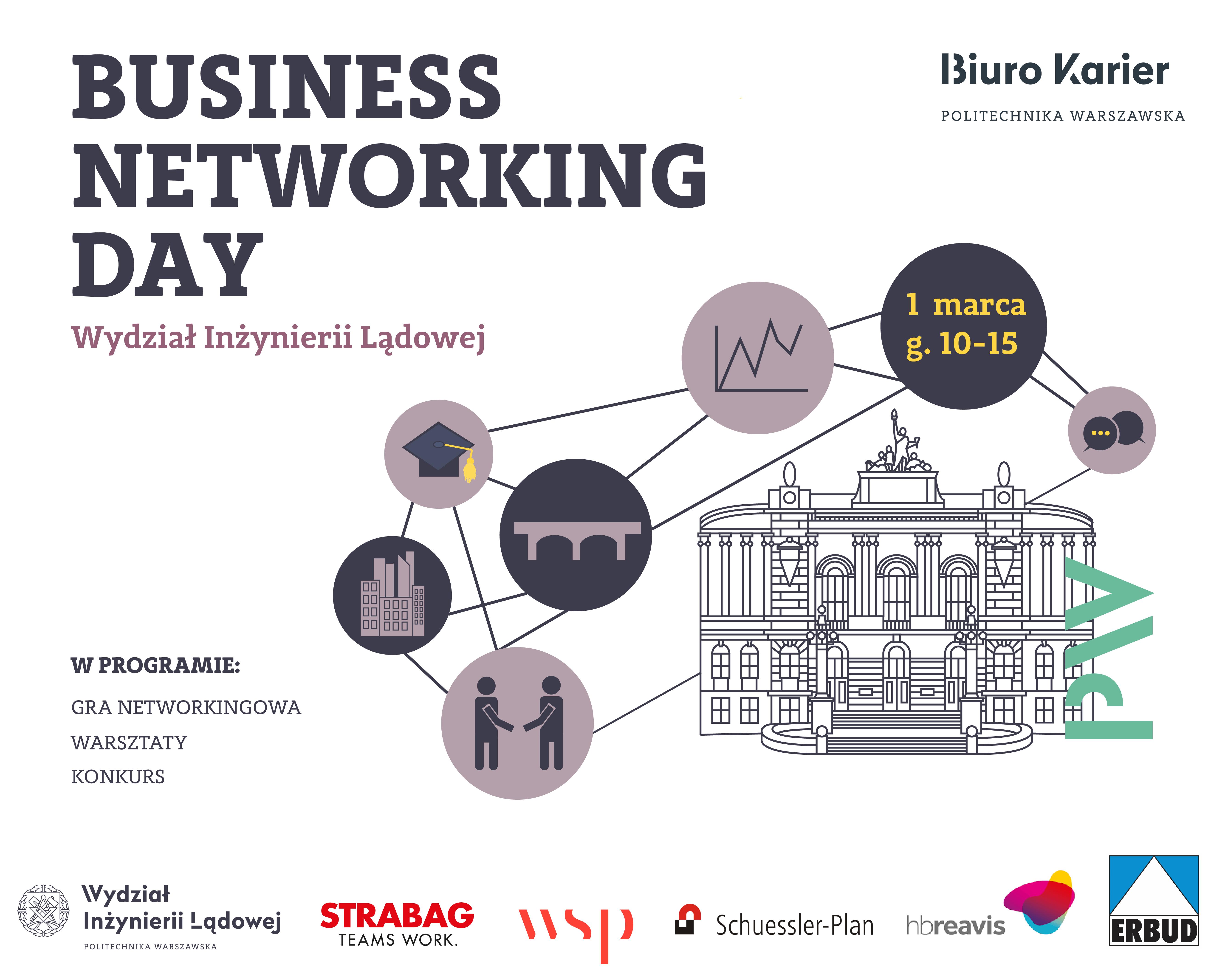 Business Networking Day na Wydziale Inżynierii Lądowej PW!