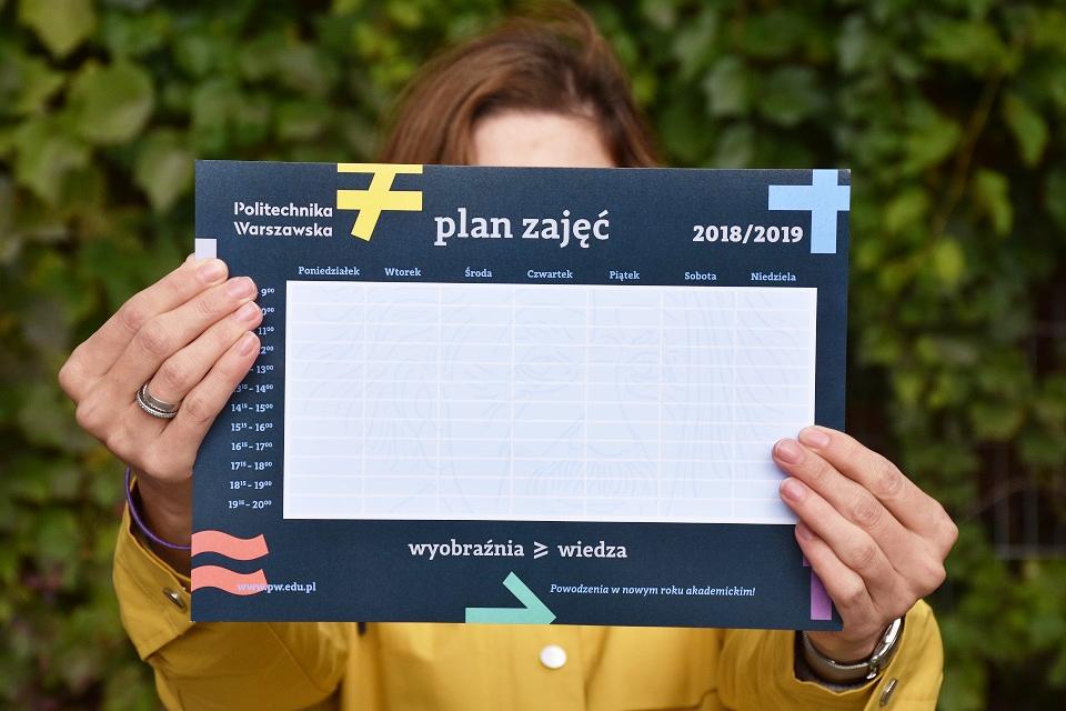 Kolorowy plan zajęć i kalendarz do pobrania