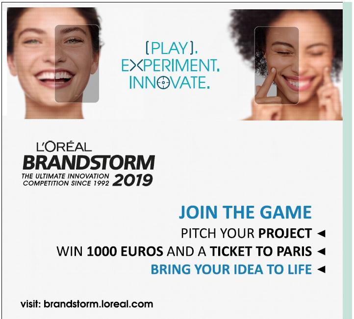 L'Oréal Brandstorm 2019