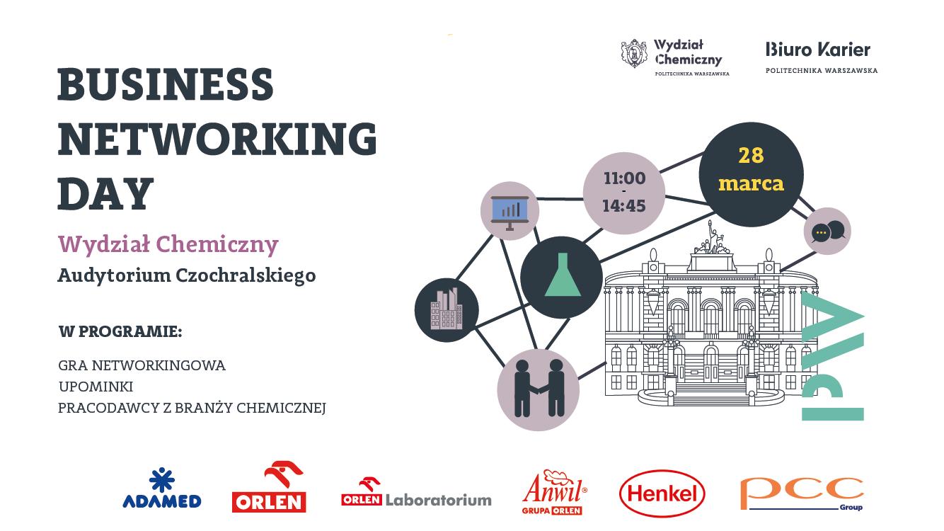 Business Networking Day na Wydziale Chemicznym PW!