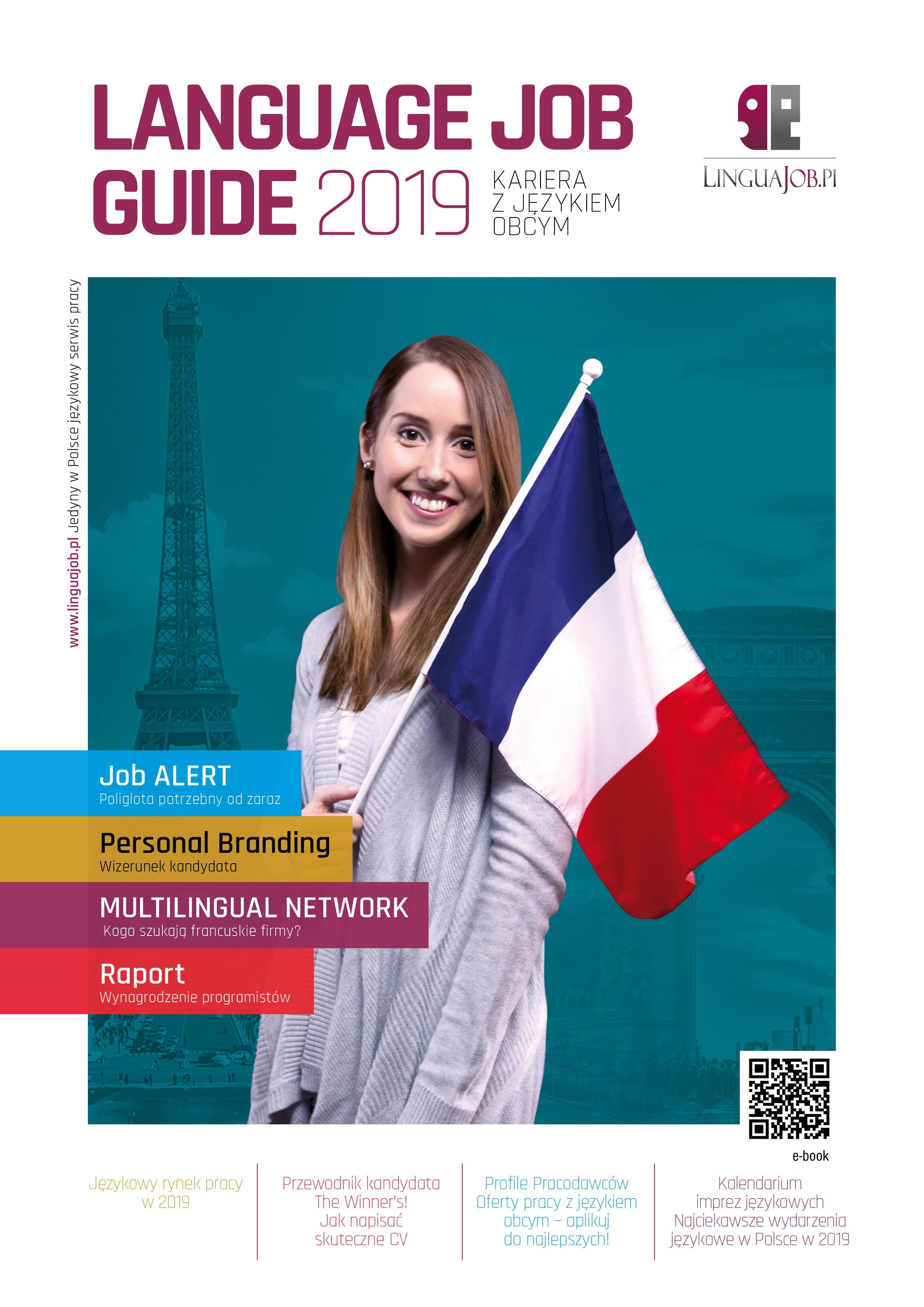 Już jest! Katalog LANGUAGE JOB GUIDE 2019!