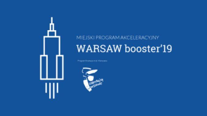 Miejskie program akceleracyjny WARSAW booster'19