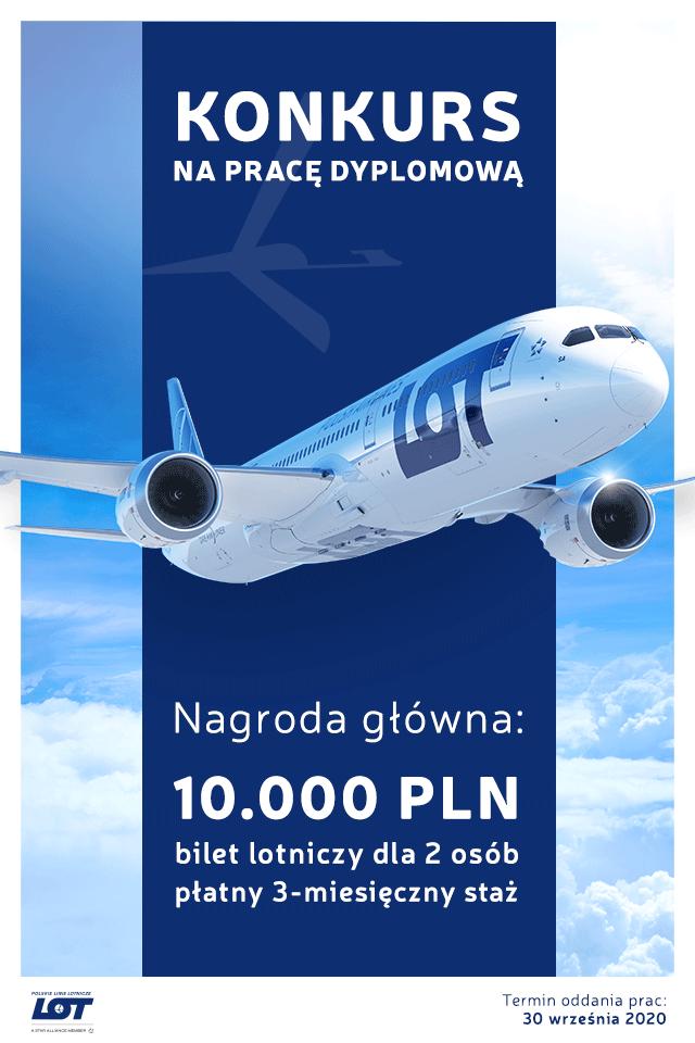 Lot nagrodzi najlepsze prace dyplomowe o lotnictwie