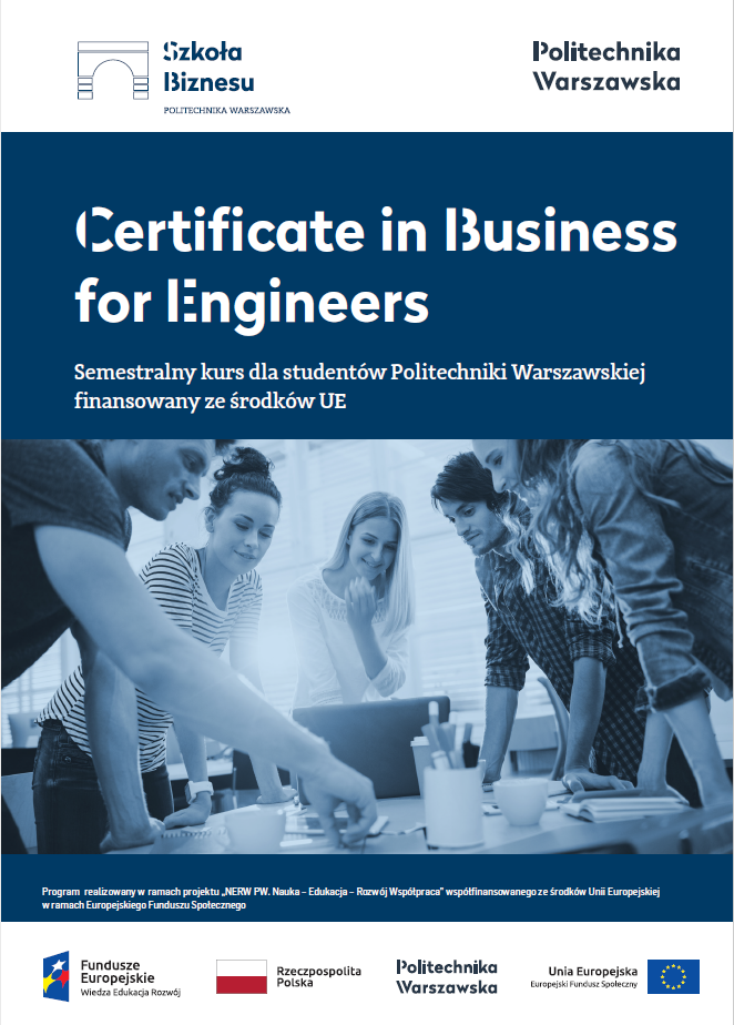 Certificate in Business for Engineers