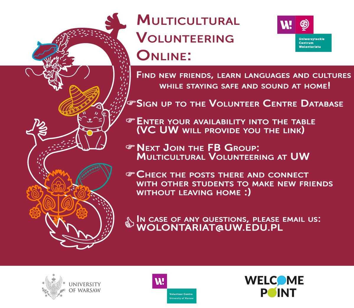 Multicultural Volunteering Online