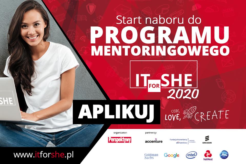 Program mentoringowy ITforSHE
