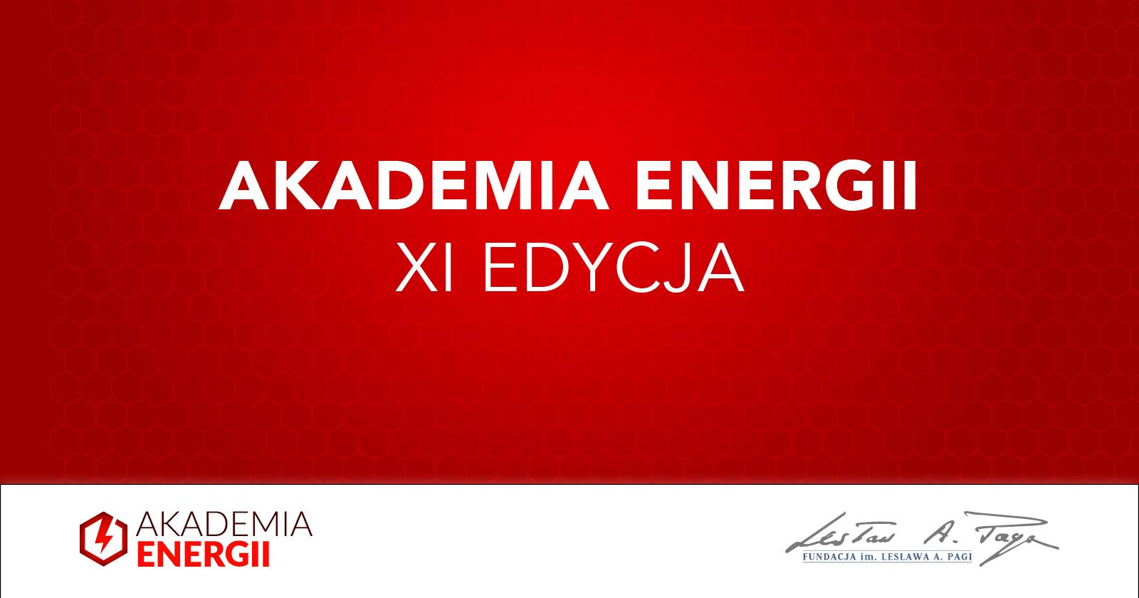 Zgłoś się do IX edycji Akademii Energii!