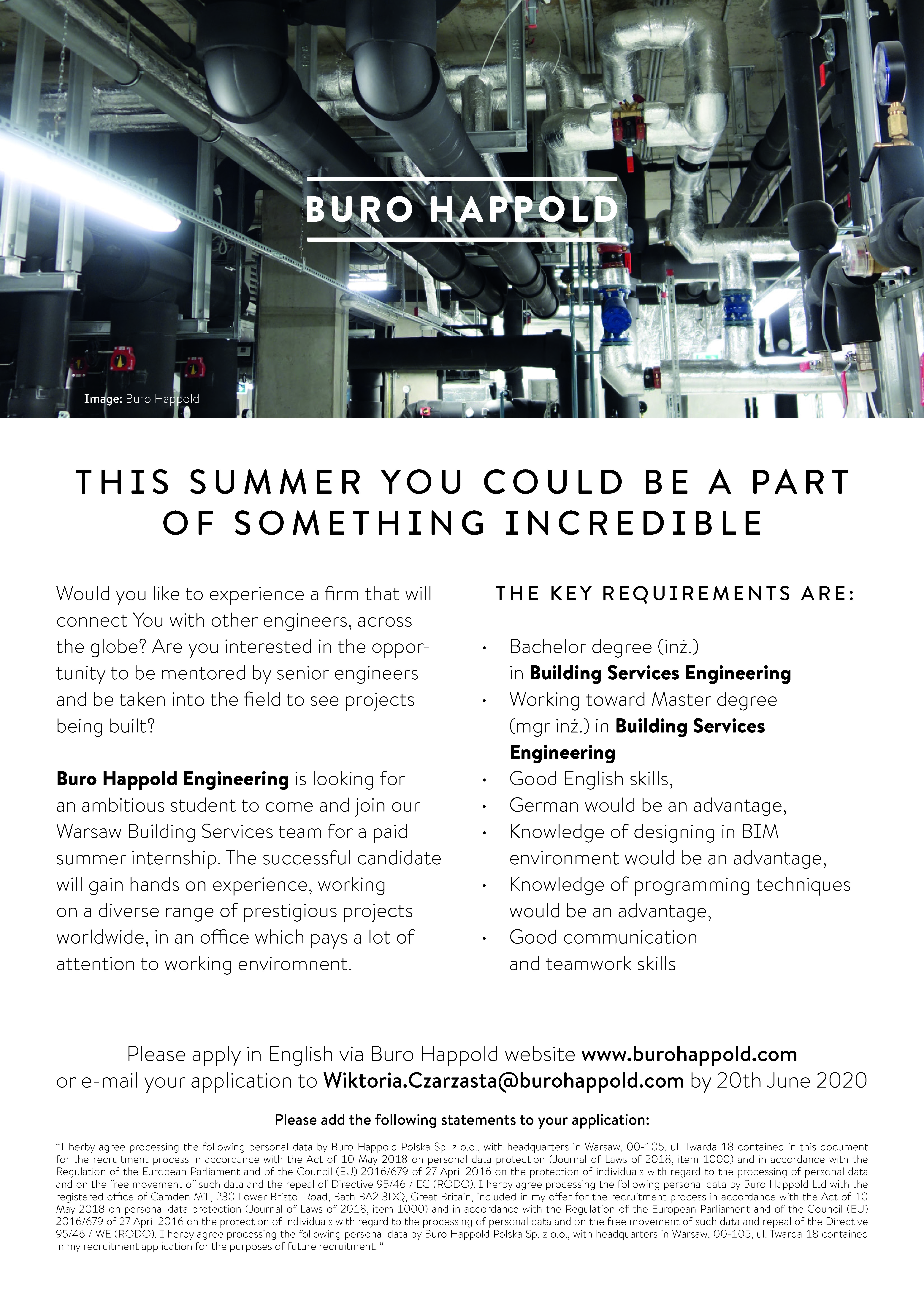 Letnie praktyki w Buro Happold