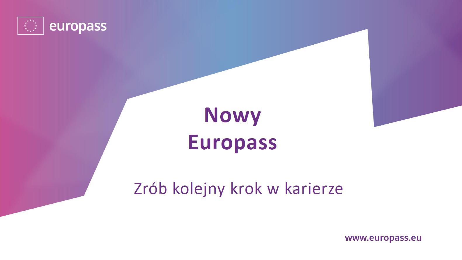 Nowa odsłona usługi Europass