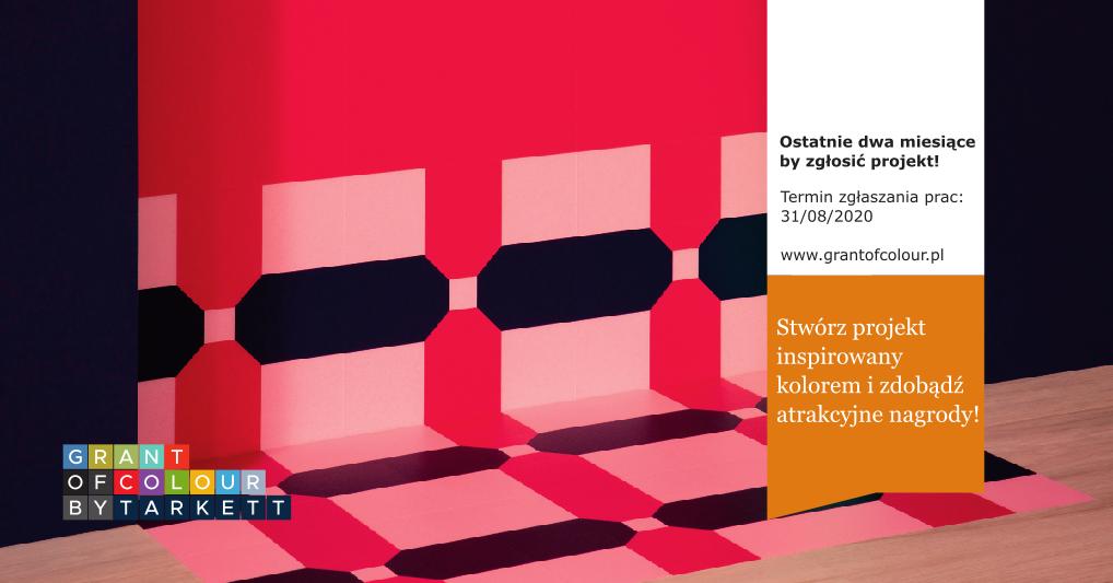 Grant of Colour - konkurs dla studentów i młodych projektantów i architektów.