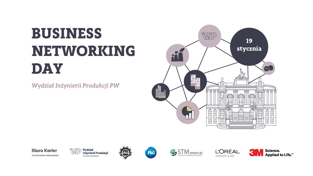 Business Networking Day na Wydziale Inżynierii Produkcji PW