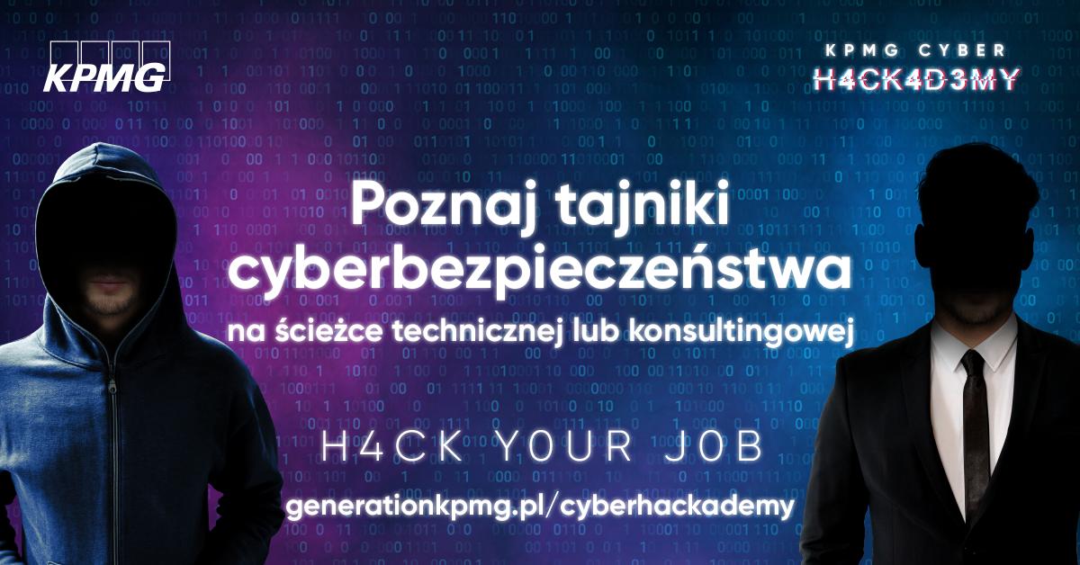 KPMG zaprasza na I edycję programu CyberH@ckademy!