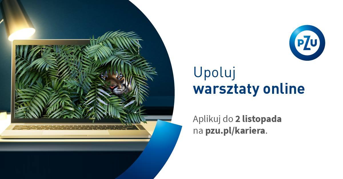 Zapraszamy do kolejnej edycji Dni Otwartego Biznesu PZU – warsztatów online dla studentów!